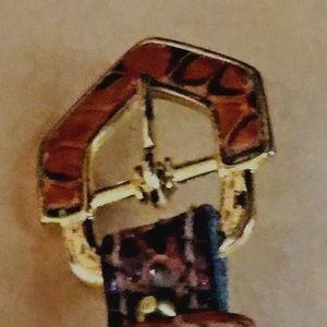"""Calderon Accessories - Women's Calderon Belt Size Medium 33 3/4"""""""